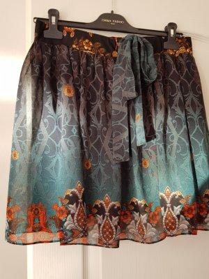 Orna Farho Plaid Skirt multicolored