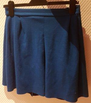 Amisu Miniskirt neon blue polyester