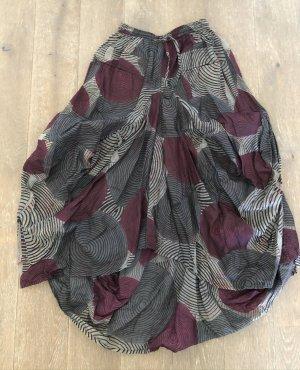 Balloon Skirt grey violet-slate-gray