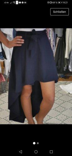 Rainbow Falda asimétrica azul oscuro