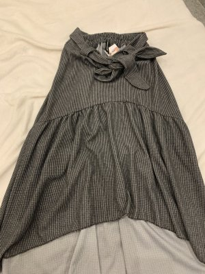 Balloon Skirt black-white