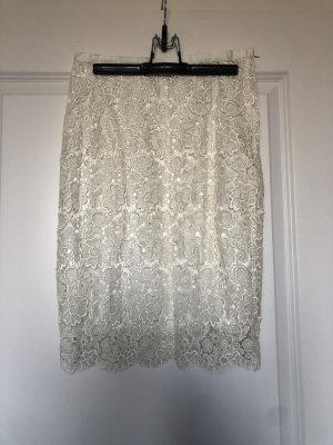 Zara Pencil Skirt natural white