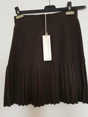 Stefanel Jupe tricotée brun foncé