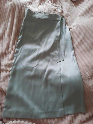 H&M Jupe portefeuille vert menthe