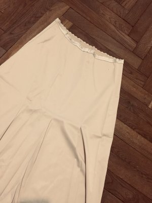 Kookai Spódnica midi w kolorze białej wełny-jasnobeżowy