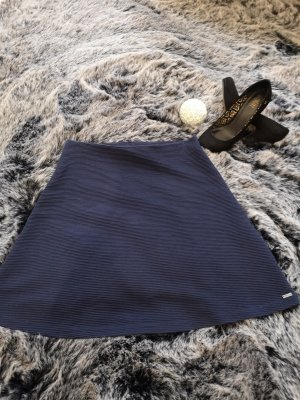 Tom Tailor Denim Knitted Skirt blue-dark blue