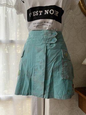 Broadway Mini-jupe bleu clair-turquoise
