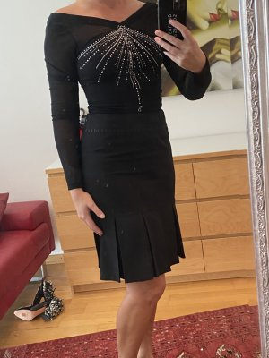 Blugirl Blumarine Jupe à plis noir