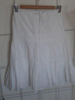Warstwowa spódnica biały