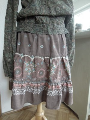 C&A Broomstick Skirt multicolored