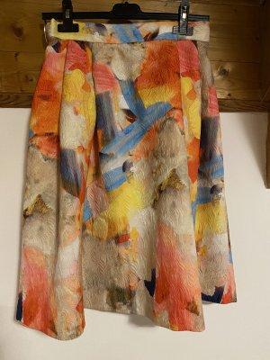 H&M Jupe corolle multicolore