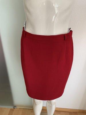 Taifun Pencil Skirt dark red