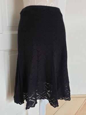 Vero Moda Spódnica midi czarny