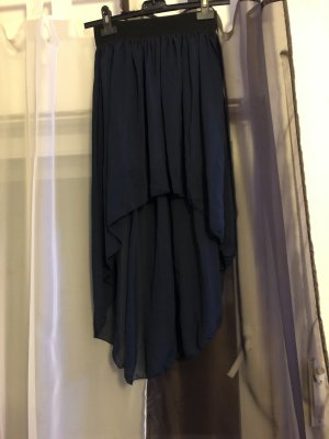 Stretch Skirt black-dark blue