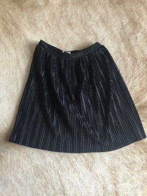 Mango Jupe à plis noir