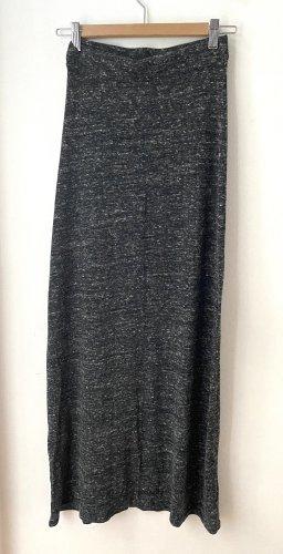 Bershka Falda larga gris
