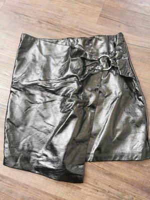 Amisu Asymmetry Skirt black