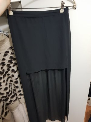 H&M Tiulowa spódnica czarny