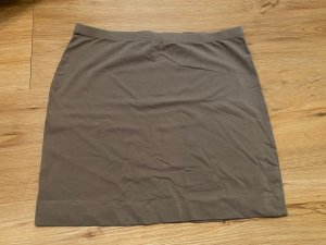 H&M Basic Stretch Skirt grey brown