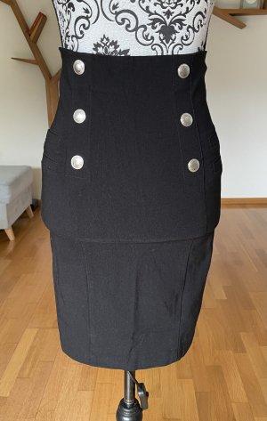 Amisu High Waist Skirt black