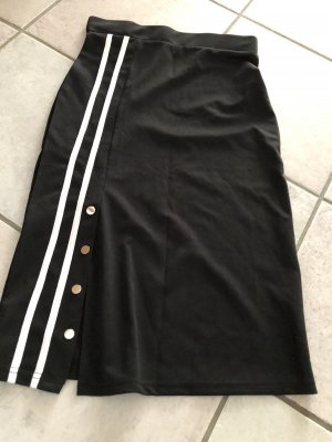 Stretch Skirt black-white