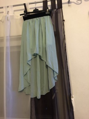 Stretch Skirt black-mint