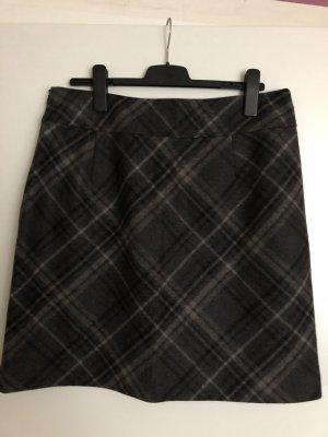 Christian Berg Wool Skirt brown-black