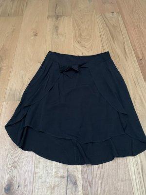 Comma Wraparound Skirt black