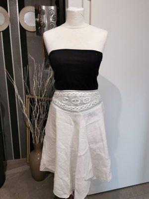 H&M Linen Skirt natural white