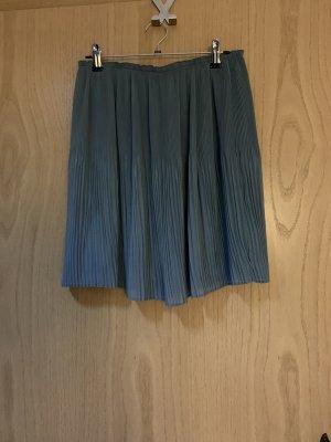 H&M Plisowana spódnica jasnoniebieski-szary niebieski