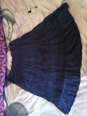 unknown Midi Skirt dark blue