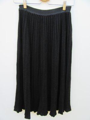 Vintage Plaid Skirt black