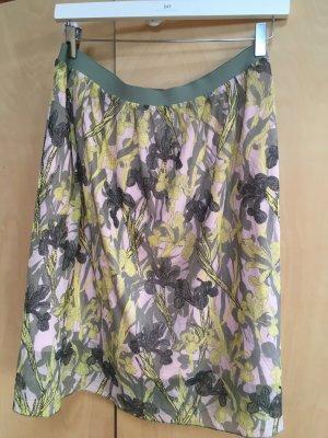 Lanius Midi Skirt multicolored cotton
