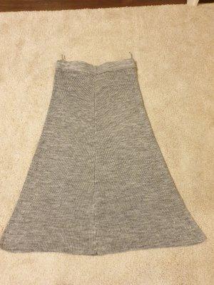 Koton Wollen rok zilver-grijs