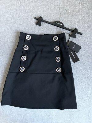 Dolce & Gabbana Miniskirt black new wool