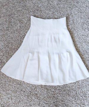 Dolce & Gabbana Falda a cuadros blanco