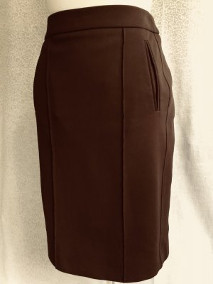St. emile Wool Skirt dark brown