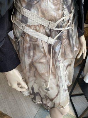 Balloon Skirt camel-natural white