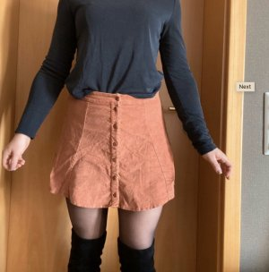Double Agent Flared Skirt russet