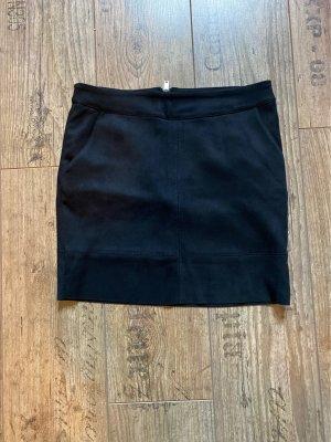 Only Fashion Jupe en cuir synthétique noir