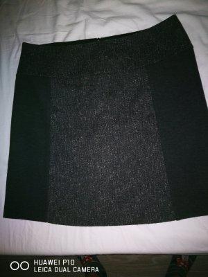 Zero Tweed rok zwart-zilver