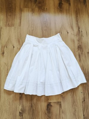 Benetton Midi Skirt white