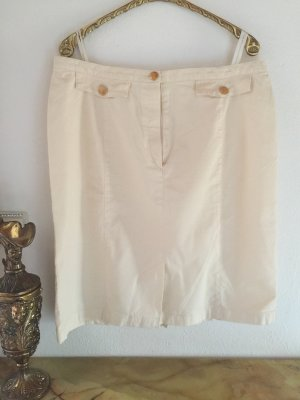 ae elegance Stretch Skirt cream