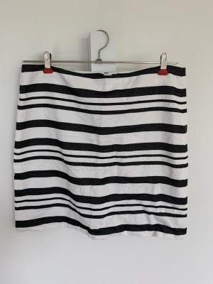 Esprit Spódnica midi w kolorze białej wełny-czarny