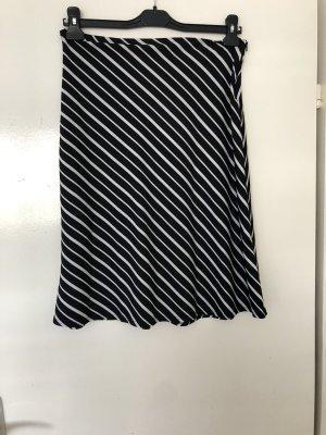 C&A Spódnica ze stretchu czarny-biały