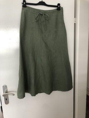 H&M Spódnica maxi khaki