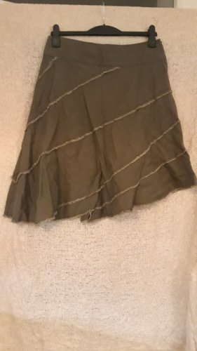 Broomstick Skirt green grey