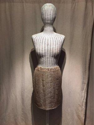 H&M Spódnica ze stretchu złoto