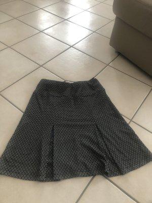 Biaggini Spódnica midi czarny-biały