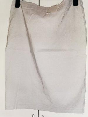 Asos Pencil Skirt light grey cotton